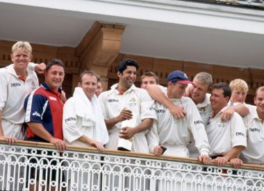 When Flintoff dropped three catches off Akram