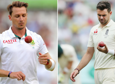 Dale Steyn says he has 'no skill' in comparison to James Anderson's abilities