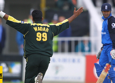 Wisden's ODI spell of the 2000s, No.4: Waqar Younis 7-36